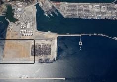 ISLA VERDE EXTERIOR. Concurso público para explotar una terminal de contenedores