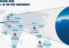 CONECTIVIDAD. Algeciras, segundo puerto del mundo que más aumentó su conectividad marítima en la recta final de 2017