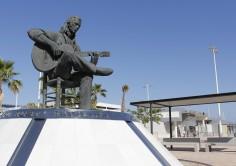 PASAJEROS. Obras en la conexión peatonal desde el Acceso Central Paco de Lucía a la Estación Marítima de Algeciras