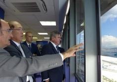 OMI. El secretario general de la OMI visita el Puerto de Algeciras