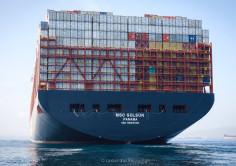 Les méga-porte-conteneurs de plus de 23 000 EVP commencent à faire escale à Algésiras