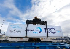 The Port of Algeciras has closed 2017 with throughput figures of over 100 million tonnes