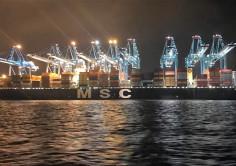 MEGASHIPS. El Puerto de Algeciras opera simultáneamente 2 portacontenedores de más de 20.000 Teus