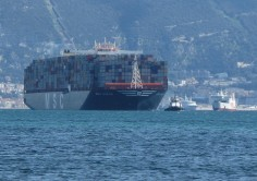 En 2015, 99 méga ships ont effectué des opérations de manutention dans le Port d 'Algésiras