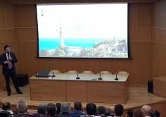 La Autoridad Portuaria de la Bahía de Algeciras presenta  la nueva imagen corporativa de sus puertos