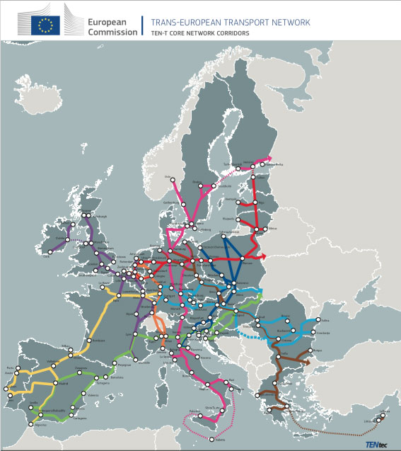 Ten T Connecting Europe